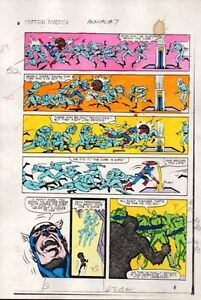 1983-Captain-America-Annual-7-page-13-Marvel-Comics-color-guide-art-1980s