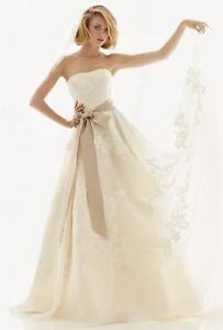 Melissa Sweet Lace A-Line Wedding Gown