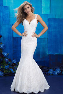 Allure Bridal Wedding Gown - Size 8