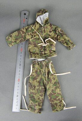 Dragon WWII German WH Winter Camo Combat UNIFORM 1/6