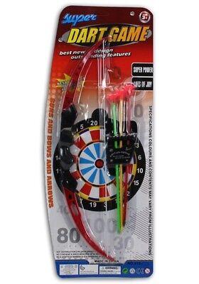 Pfeil und Bogen Set 3 Saupnapfpfeilen Halterung NEU OVP 208 Spielzeug (Spielzeug Pfeil Und Bogen)