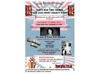🎉👠1940's war time era live jazz charity event-POUNDBURY 8th April 17'!!👠🎉