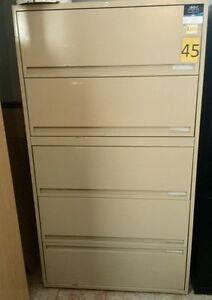 5 Drawer Lateral Filing Cabinets