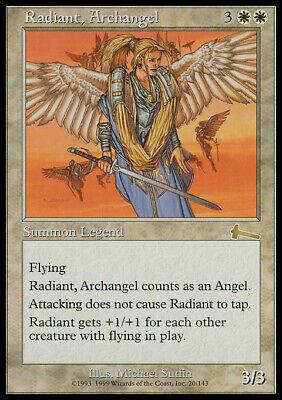 Magic the Gathering MTG Radiant, Archangel Urza's Legacy MP