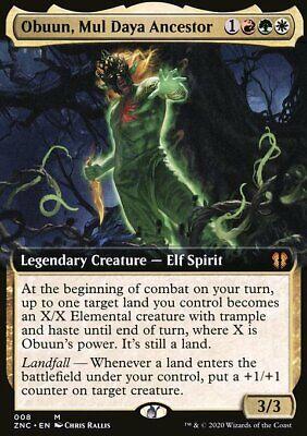 Magic the Gathering MTG Obuun, Mul Daya Ancestor Zendikar Rising Commander NM