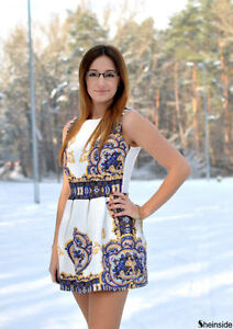 **BRAND NEW** Ladies Printed Dress (Above Knee) Cambridge Kitchener Area image 5