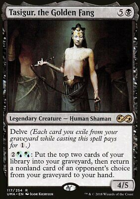 Magic the Gathering MTG Tasigur, the Golden Fang Ultimate Masters NM