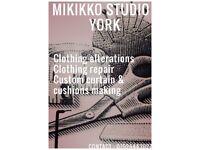 Clothing alterations / Custom curtain making / Cushions making