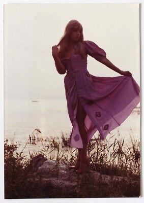 VINT.1970s risque Hippie fashion model*