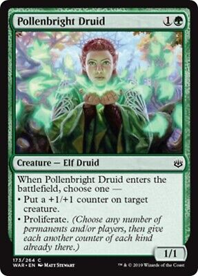 Mint//NM Pack Fresh 4x Charmed Stray MTG War of the Spark WAR