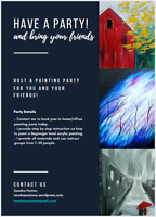 Painting Nights Parties - In your home