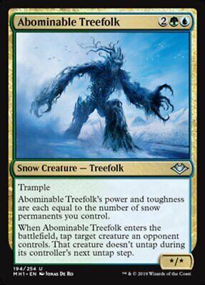 *MtG: 4x Abominable Treefolk - Modern Horizons Uncommon - magicman-europe*
