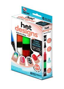 Hot Designs Nail Art P... Girls Nail Polish Designs