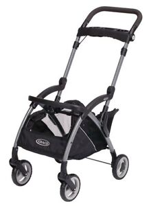 Graco SnugRider Elite Infant Car Seat Frame Baby Stroller - Black | 1793955