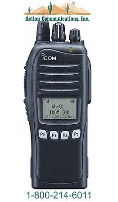 New Icom Ic-f3261ds-55 Vhf136-174 Mhz 5 Watt 512 Channel Two Way Radio