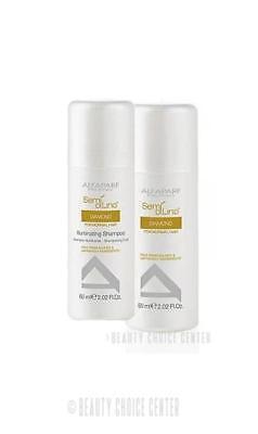 Alfaparf Semi Di Lino Diamante Illuminating - TRAVEL SET (Shampoo & Conditioner) - Alfaparf Semi Di Lino Diamante