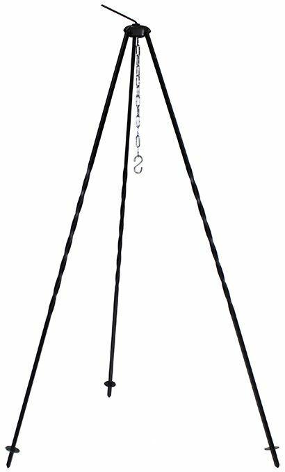 gulasch kessel Dreifuss mit Topf 8L f Lagerfeuer Feuerstelle,Glühwein dreibein