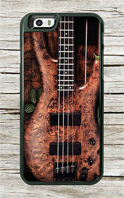 Music Instrument Wood Bass Guitar Case For Iphone 7 Or 7 Plus  Ndf5z