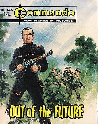 Commando For Action & Adventure Comic Book Magazine #1495 OUT OF FUTURE