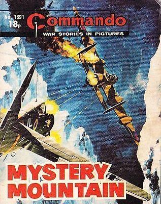 Commando For Action & Adventure Comic Book Magazine #1691 Mystery Mountain