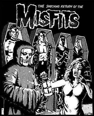 Vintage Misfits poster horror punk band 3834