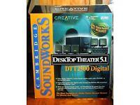 Creative Labs | Desktop Theatre 5.1 2500 Digital Multi-Speaker System