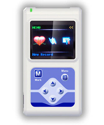 Tlc5000 12 Channels Ecg Ecg Holter Monitor System New Usa Seller