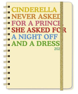 Heye Cinderella Spiral-Kalenderbuch A5 Taschenkalender mit viel Zubehör 2021