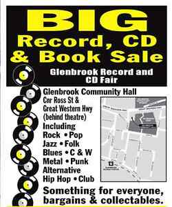 GLENBROOK RECORD & CD FAIR THIS WEEKEND 6th & 7th OF AUGUST ! Helensburgh Wollongong Area Preview