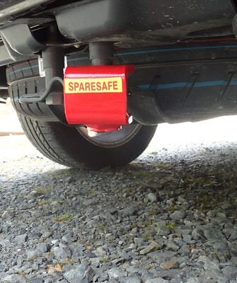 SpareSafe Spare Wheel Security Device fo VW T5 T6 Including Locking Wheel Bolt