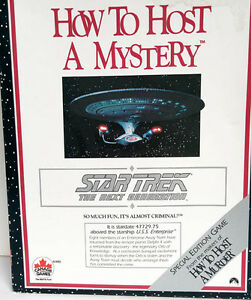 How To Host A Mystery - Star Trek: The Next Generation