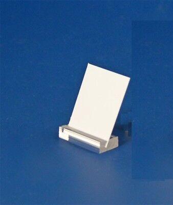 6 Acryl Schilderhalter Preisaufsteller Thekenaufsteller 30 mm Für Preisetiketten