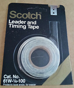 SCOTCH LEADER N TIMING TAPE 20 ROLLS