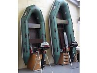 BARK INFLATABLE DINGHY / DINGHIES / TENDER / BOAT 2.7M - 4.5M