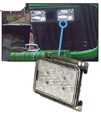 Fits John Deere 5d 5e 5m 6d 6j 7030 Series Tractor Led Hood Light - Hilo
