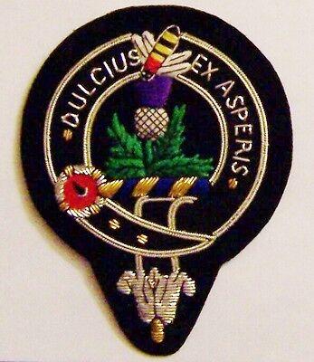Royal Scottish Scotland Clan Fergusson Ferguson Crest Heraldry Family Name Patch