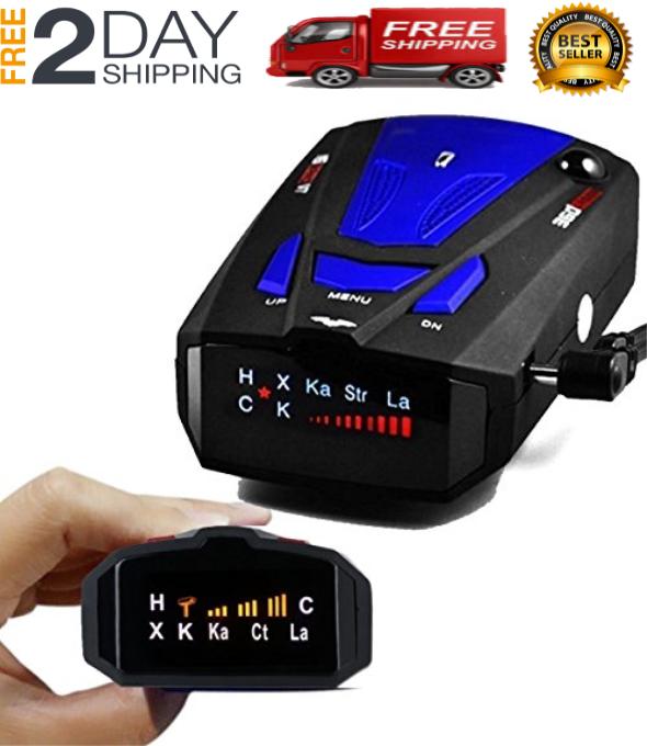 Best Laser Camera Radar Detector Cop Cars Police Scanner Rea