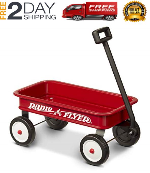 New Flyer Wagon Toy kids Car Little Red Children wheel Pull