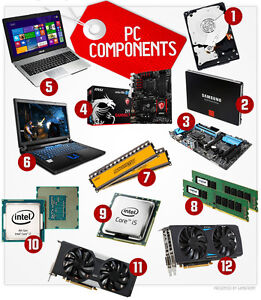 COMPUTER PARTS- POWERFUL SERVERS-WORKSTATIONS-COMPUTERS-LAPTOPS