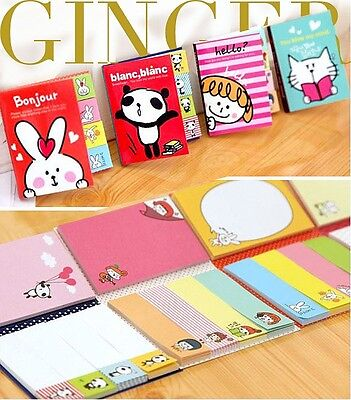 KAWAII!!! Funny Sticker Post-It Bookmark Point It Marker Memo Flags Sticky Notes on Rummage