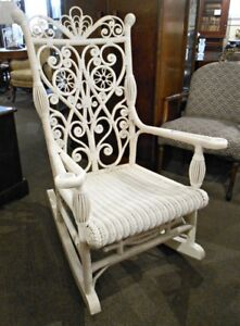 EXQUISITE HIGH END INTRICATELY PATTERNED ROCKER AT CHARMAINE'S