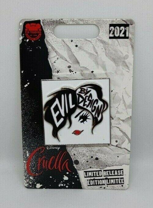 Cruella Live Action Evil by Design 101 Dalmatians Limited Release Disney Pin