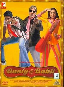 Bunty Aur Babli Bollywood DVD With English Subtitles
