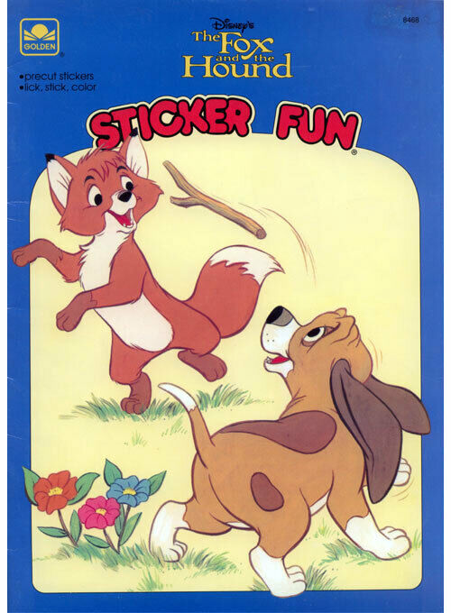 The Fox and the Hound 2 Coloring Book: Coloring Book for Kids and ... | 680x500
