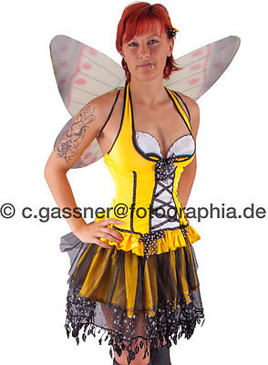 Kostüm * Sexy * Fee * Elfe * Schmetterling * Butterfly *– 5 tlg., Gr. - Elf Kostüm Sexy
