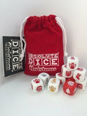 ABSOLUTE DICE-CHRISTMAS DICE GAME-FUN FOR ALL AGES-A GAME OF CHANCE-HOLIDAY COOL ()