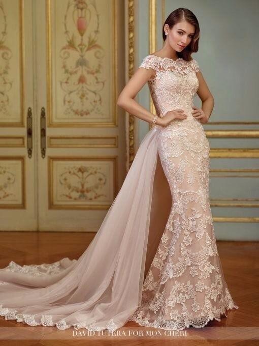 Wedding Dress Size 12 14 Mon Cheri Bridals 117291