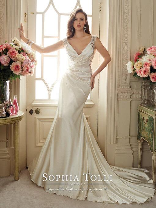 Spohia Tolli wedding dress Malika Y11631