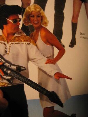 Marilyn Kleid 60er Jahre Kostüm Mottoparty - 60er Jahre Motto Party Kostüm