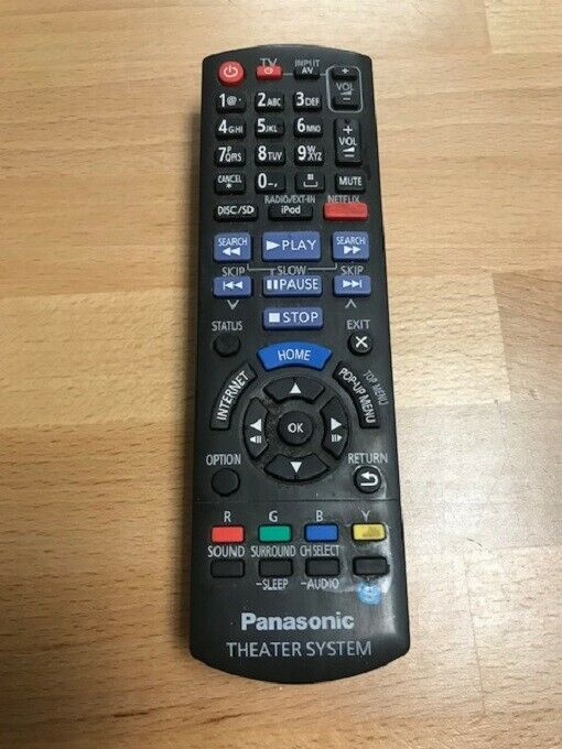 Panasonic Replacement Remote For Theater System Model YS1116511